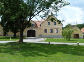 Penzion u Krumlova, Srnín (Přísečná yakınında)