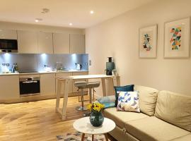 Stunning flat with excellent transport links