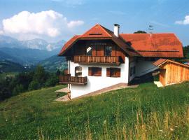Ferienwohnung Christine Spiessberger, Gmundnerberg (Altmünster yakınında)