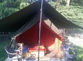 Tent amidst greenery in Kasol, by GuestHouser 60770