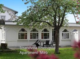 Strandvilla Rheingold - Ferienwohnung Miro