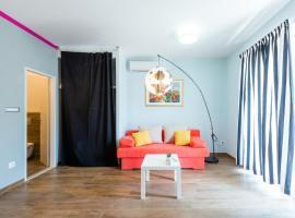 Lavander studio apartment