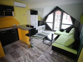 Centrum Lux 2 Apartmanok, Капошвар