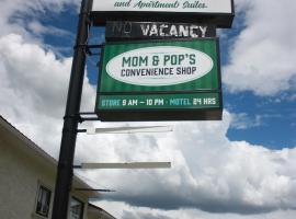 Outpost Motel, Cardston (Mountain View yakınında)