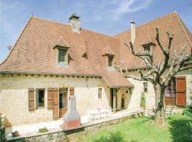 Holiday home Cacavon, Salignac Eyvigues (рядом с городом Borrèze)