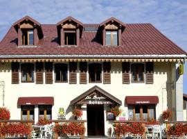 Hotel Les Bruyeres -, Chapelle-des-Bois (Le Brassus yakınında)