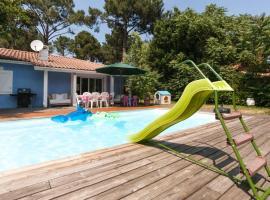 Villa piscine chauffee cap ferret
