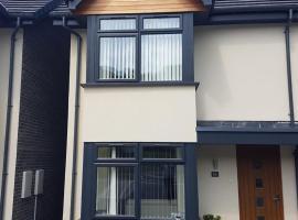 Bright modern house beside Snowdonia, Llanfairfechan (рядом с городом Penmaen-mawr)