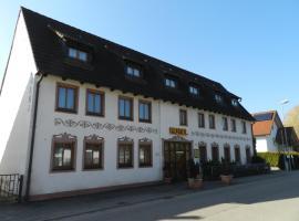 Hotel Garni KAMBEITZ, Ötigheim (Steinmauern yakınında)