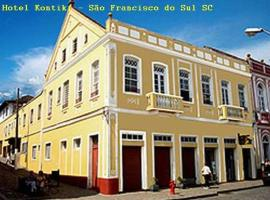 Kontiki Hotel, São Francisco do Sul (São Francisco do Sul yakınında)