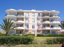 Beach front apartment 2 bed