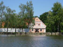 Květnický mlýn, Květnice (Újezd nad Lesy yakınında)