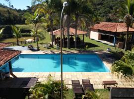 Hotel Fazenda Santa Rita, Chácara (Rio Novo yakınında)