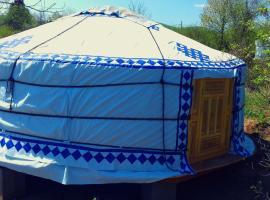 Romantic Mongolian yurt in the Wild, Раковица (рядом с городом Bročanac)