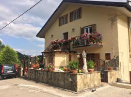 La casa nel verde, Castelmezzano (Laurenzana yakınında)