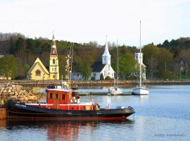 Mahone Bay Beach House, Mahone Bay (U blizini grada 'Western Shore')