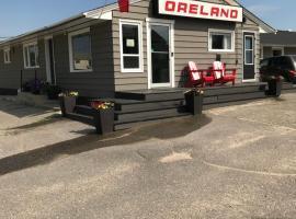 Oreland Motel, Flin Flon (Schist Lake yakınında)