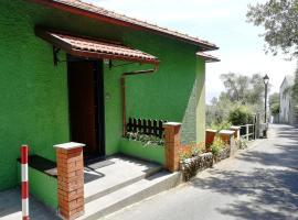 La Casa Verde, Zoagli (Rovereto yakınında)