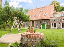 Ferienwohnungen im Alten Backhaus, Haselberg (Frankenfelde yakınında)