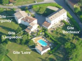 Gite complex near Mirepoix in the Pyrenees, Limbrassac (рядом с городом Dun)