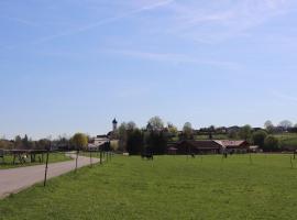 Ferienwohnung Pferdehof Pankratz, Iffeldorf (Penzberg yakınında)