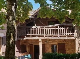 La maison de Delphine, Castelnau-Pégayrols