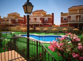 Apartamentos Playamar, Roquetas de Mar (Las Salinas yakınında)