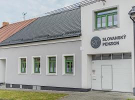 Slovanský penzion, Mikulčice (Lužice yakınında)