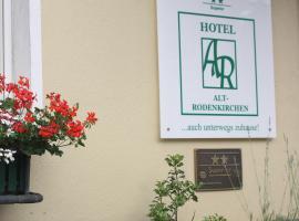 Hotel Alt-Rodenkirchen, Köln (Langel yakınında)