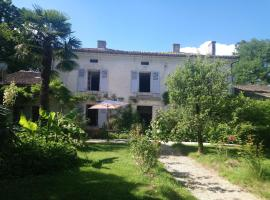 Domaine de Puytirel, Champagne-et-Fontaine (рядом с городом Gurat)