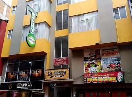 Hotel Dinnar, Ipiales (Teques yakınında)