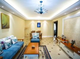 Yantai Yangma Island Three - bedroom With Two Yard Near Seaside, Muping (Beixishan yakınında)