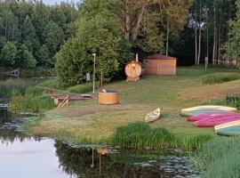 Soomaa Water Camp, Jõesuu (Riisa yakınında)