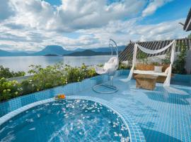 Lugu Lake Huazhigu Boutique Holiday Hotel, Ninglang (Ningli yakınında)
