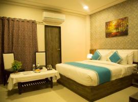 hotel elegance villa, Удайпур (рядом с городом Kurābar)