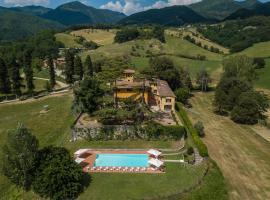 Villa Falco Reale, Vicchio (Molezzano yakınında)