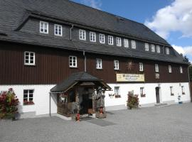 Waldgasthof Bad Einsiedel, Seiffen (Klíny yakınında)
