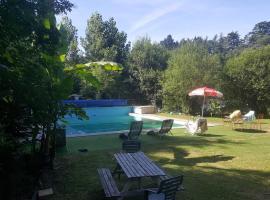Gite cote jardin, Gétigné (рядом с городом Boussay)