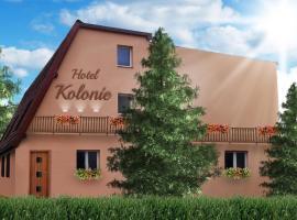 Hotel Kolonie, Frýdlant nad Ostravicí (Malenovice yakınında)