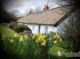 Fernbank Holiday Cottage, Rait (рядом с городом Balbeggie)