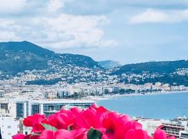 150 m from the sea with beautiful view on Nice