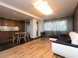 Modern quiet 2 bedroom apartment near city center