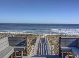 Tiki Schaack, Kure Beach (in de buurt van Carolina Beach)
