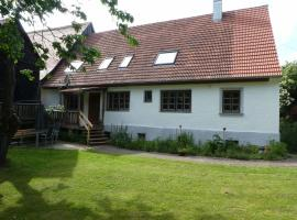 Ferienhaus Froschmühle, Dinkelsbühl (Fichtenau yakınında)