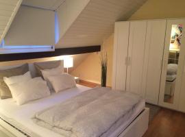Attika-Zimmer (35 m2, modern, gross, zentral gelegen)