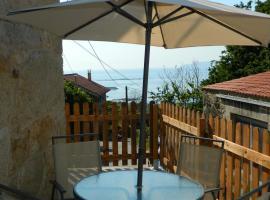 Casa con vistas a Finisterre a 15 min a pie de la playa, Пасо (рядом с городом Лира)