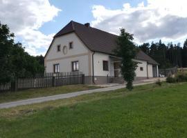 Chalupa u lesa - Nova Ves, Český Rudolec (Dačice yakınında)
