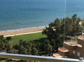 Ático en primera línea de playa, El Borseral