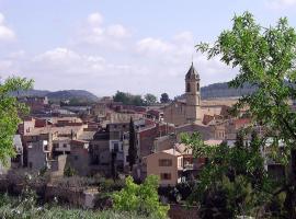 La roca del Castell, Cerviá (Les Borges Blanques  yakınında)