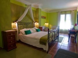 Hotel Sierra Quilama, San Miguel de Valero (Linares de Riofrío yakınında)